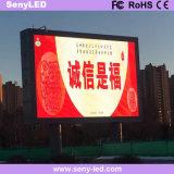 Cartelera fija al aire libre ahorro de energía del LED para la publicidad a todo color con alto brillo