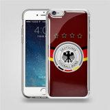 voor Cel van de Ernst van de Druk van Samsung van iPhone de Transparante Anti/het Mobiele Geval van de Dekking van de Telefoon