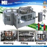 Água engarrafada da soda/do brilho que processa a maquinaria