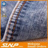 Ткань 100% джинсовой ткани хлопка лидирующая эластичная для куртки и тяжелое дыхание