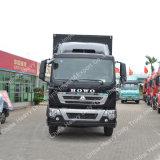 販売のためのSinotruk HOWO T5g 4X2ボックストラックの貨物バン