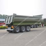 후방 경사 판매를 위한 실용적인 트레일러 60-80 톤 또는 덤프 트레일러