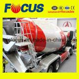 HOWOシャーシ14の立方コンクリートミキサー車のトラック