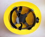 Casque antichoc En397 de pleine de bord du V-Gard sûreté ronde de suspension
