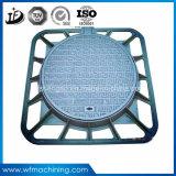 Tampas de câmara de visita do ferro de molde do sistema de drenagem pelo processo de Resina Carcaça