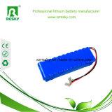 의료 기기를 위한 18650의 리튬 건전지 팩 14.8V 6600mAh, Headlamp 빛