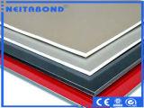el panel compuesto de aluminio de la bobina de aluminio de 3.0mm*0.10m m con la capa del PE