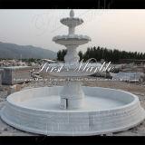 Fontana bianca Mf-1098 di Carrara della fontana di pietra di marmo del granito
