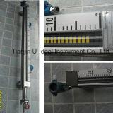 Indicador magnético del nivel del agua del flotador de Uhc, calibrador llano del tanque, contador llano con el interruptor llano