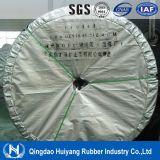 Nastro trasportatore di gomma resistente di temperatura insufficiente