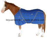 Manta polar anti del caballo del paño grueso y suave de Pilling 280g