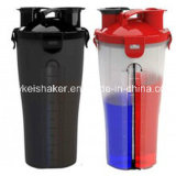 500ml all'ingrosso Protein Shaker con Plastic Wire Ball