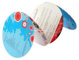 Figura speciale che taglia stampa a stampo tagliente piegata dell'opuscolo di colore