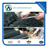 9 Gauge Woven Chain Link Fence Wire Mesh Clôture Chain Link Fencing