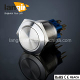 Langir L25 25mm. Metal anti vandalismo interruptor de botón