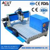 Maquinaria de trabajo de mini madera industrial de las máquinas del ranurador del CNC