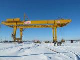 Grue de portique sur rail de conteneur de grue gauche de Rmg