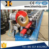 Kxd a galvanisé la pipe de feuille de tuyau de descente de fer avec la machine à cintrer de pipe