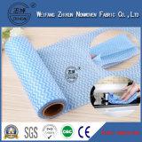 Quereinhüllung-dickflüssiges Polyester Spunlace nichtgewebtes Gewebe für nasse Wischer, Gewebe, Gesichtsmasken