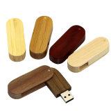 Vara de madeira Pendrive da memória da vara 4GB 8GB 16GB 32GB 64GB do USB da movimentação da pena do presente da movimentação do flash do USB