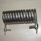 Échangeur de chaleur de tuyauterie de bobine d'acier inoxydable