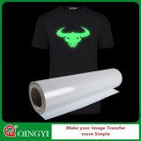 O fulgor agradável de Qingyi no rolo escuro do papel de transferência térmica para desgasta