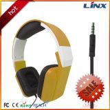 Auriculares buenos y muy durables de DJ para los laboratorios y la PC del ordenador
