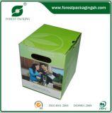 Boîte en carton polychrome de papier d'impression