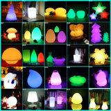 DMX LED levantar bola de color decoración iluminación bola de elevación