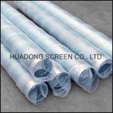 Filtre pour puits continu de l'eau de fil de cale d'écrans de Wraped de fil de l'acier inoxydable V de fente de Johnson