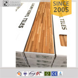 Plancher en bois de PVC de vinyle de cerise des aperçus gratuits Ce/SGS/ISO9001