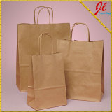 Бумажные мешки с ручкой и лоснистые мешки для покупкы