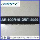Tuyau hydraulique tressé de fil de SAE100 R16