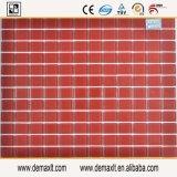 La piscina del cuadrado del color rojo embaldosa el vidrio de mosaico con precio de fábrica