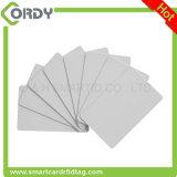 열 printing 광택 있는 완료 125kHz EM4200 PVC 카드 공백 백색
