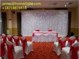 Cortina blanca de la estrella del LED para la boda/la luz de la etapa del partido/del disco