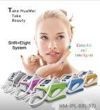 Unità di bellezza di rimozione dei capelli di IPL Shr di disegno di brevetto e di ringiovanimento della pelle