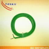 Type vert blanc vert isolation du câble K de teflon de câble de thermocouple