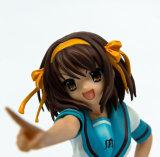 Figurine sexy del PVC della ragazza di Bowknot di plastica (ZB-03)
