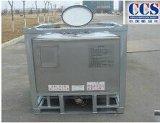 Quadratischer Behälter des Edelstahl-IBC mit Ladeplatten-Untersatz