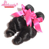 Estensione naturale del grado dei capelli 7A Remy del Virgin dell'onda allentata malese umana