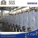 Завершите завод воды естественной весны заполняя