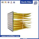 De middelgrote Filter van de Zak van de Glasvezel voor Lucht