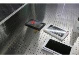 Limpiar la cabina usada para la instalación de la pantalla de la PC de la tablilla