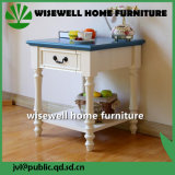 Tabella del lato della mobilia del salone di legno solido (W-CB-418)