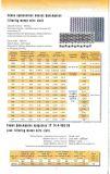 acciaio inossidabile 302/304/316/316L che filtra la rete metallica tessuta P56/P72
