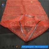 saco líquido do engranzamento do PE de 50*80cm para batatas de empacotamento