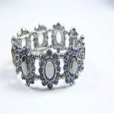Новый комплект ювелирных изделий серьги браслета ожерелья способа камней кристалла смолаы конструкции