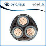 El cobre de la buena calidad (aluminio) XLPE aisló el cable de transmisión forrado PVC