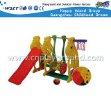 安いプラスチックおもちゃプラスチック装置の小さいプラスチックスライドはセットした(M11-09410)